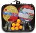 Набор START LINE: 4 Ракетки Level 200, 6 Мячей Club Select, Сетка с креплением, упаковано в сумку на молнии с ручкой